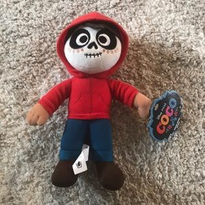 Miguel from Disney's Coco plush figure